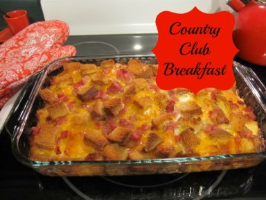 Country Club Breakfast 2