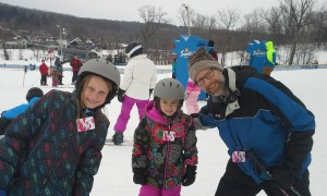 skiing at Alpine Valley