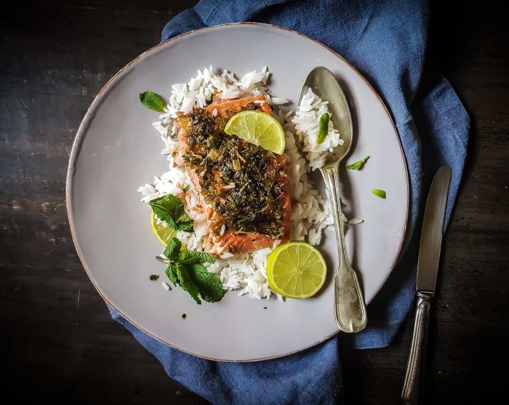 salmon thai