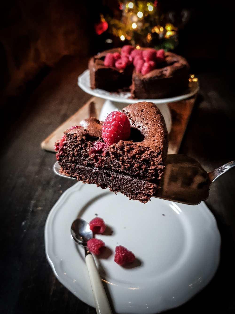 cioccolato e lamponi