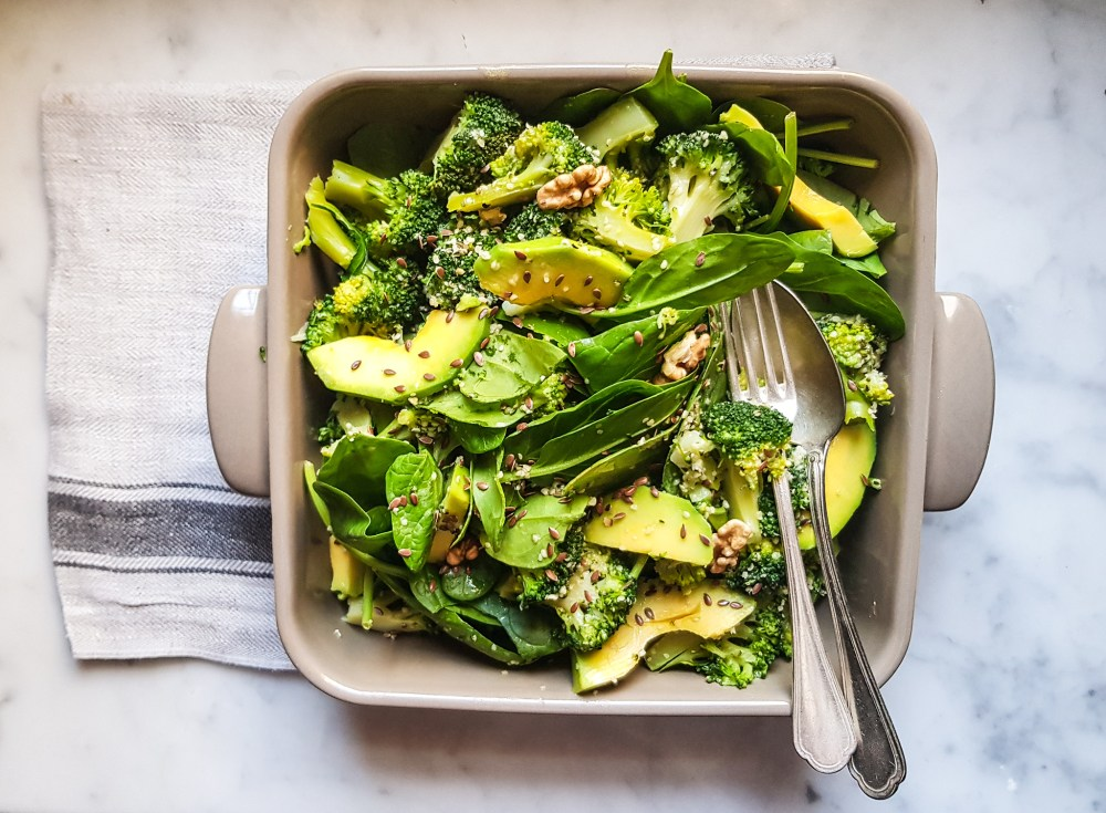 broccoli e avocado