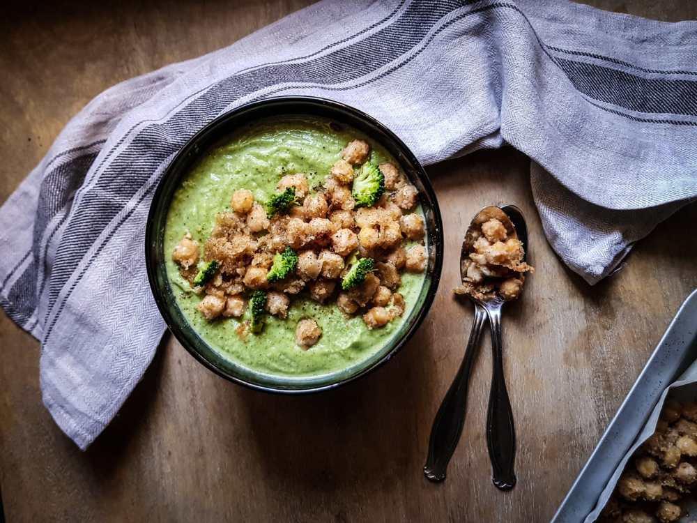 crema di broccoli e ceci