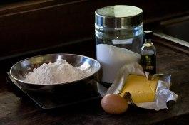 Sweet Pastry Ingredients