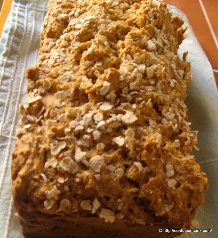 Oats & Wheat Bread