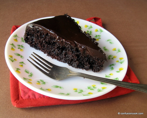 Eggless Chocolate Mocha Sachertorte