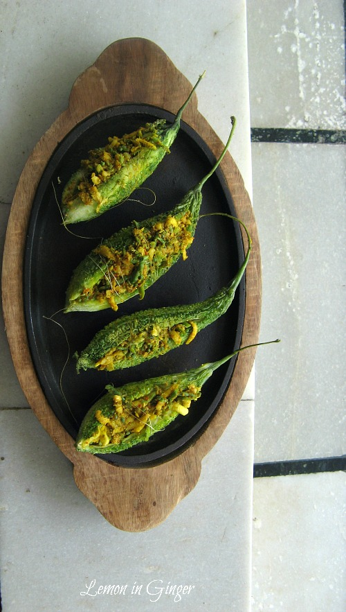 Stuffed Roasted Bittergourd