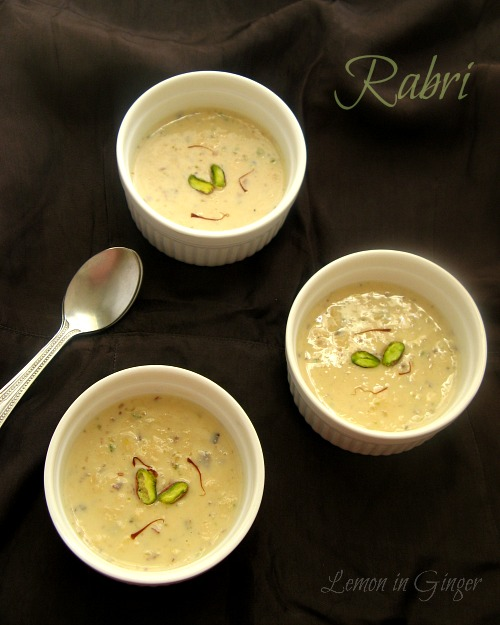 Rabri | Basundi | Khurchan | Evaporated Milk & Dry-Fruits Pudding