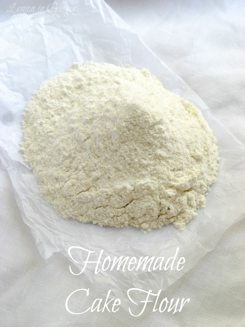 Homemade Cake Flour | DIY