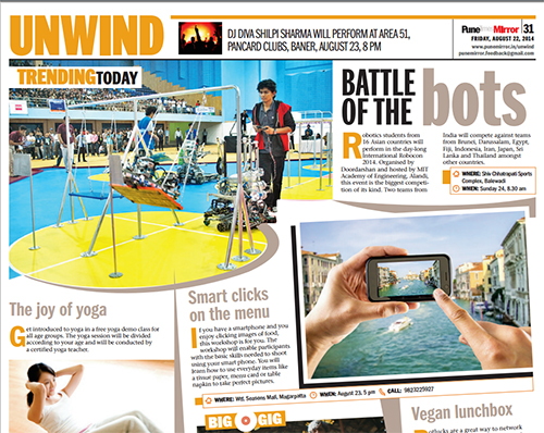 Pune-Mirror #MobileFoodPhotography Workshop