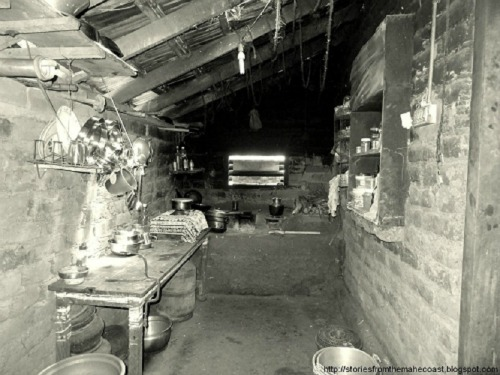 A basic kitchen in Rural India