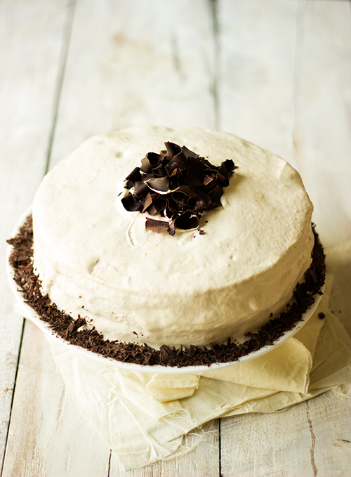 Eggless Chocolate Coffee Mocha Layered Cake