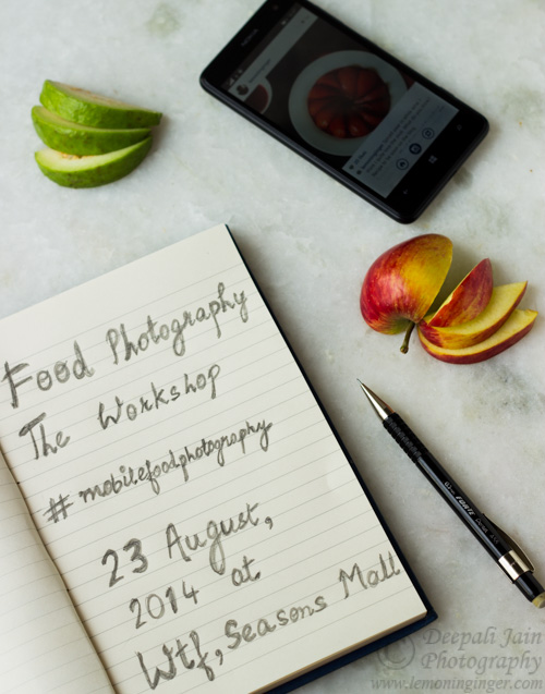 #MobileFoodPhotography Workshop #Pune