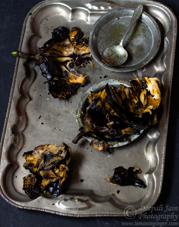How To: Roast Eggplant | Baingan Bharta