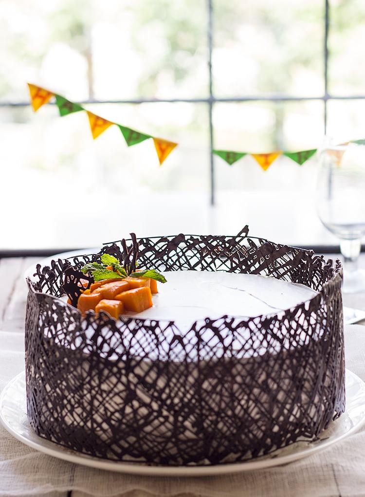 White Mango Cake