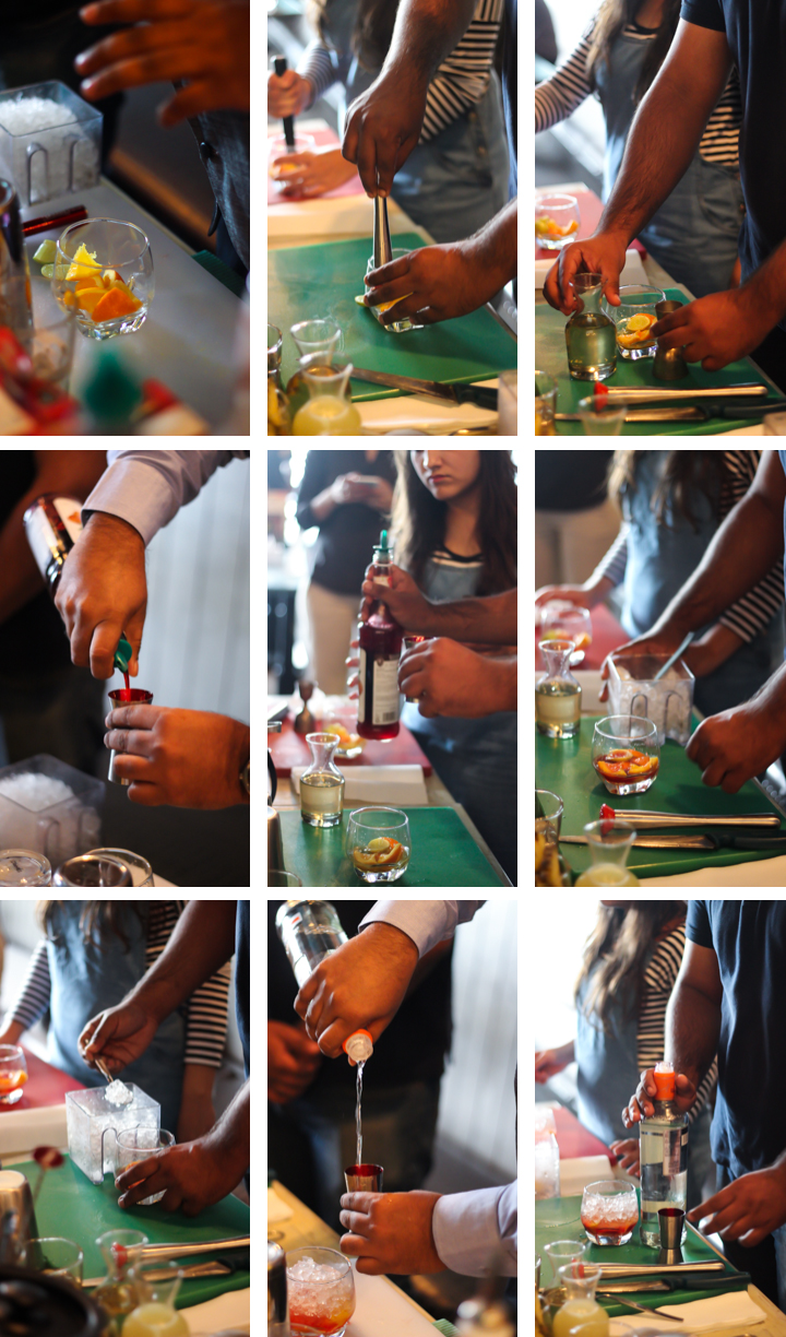 Smirnoff Cocktail Workshop at Apache High Street