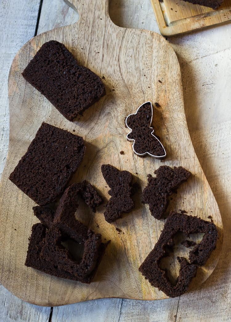 Butterfly Inside Cake