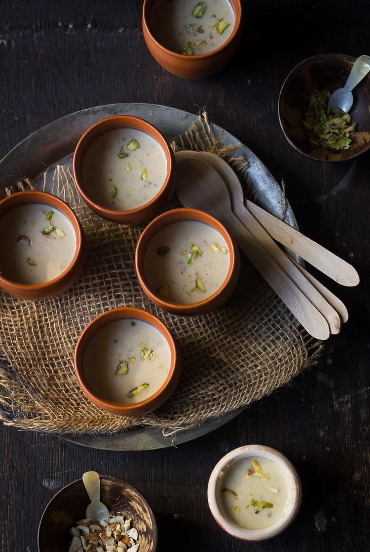 Bajre ki Kheer | Pearl Millet Pudding
