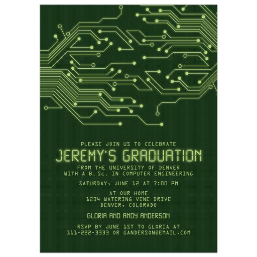 party simplicity unique graduation invitations for a boy or young