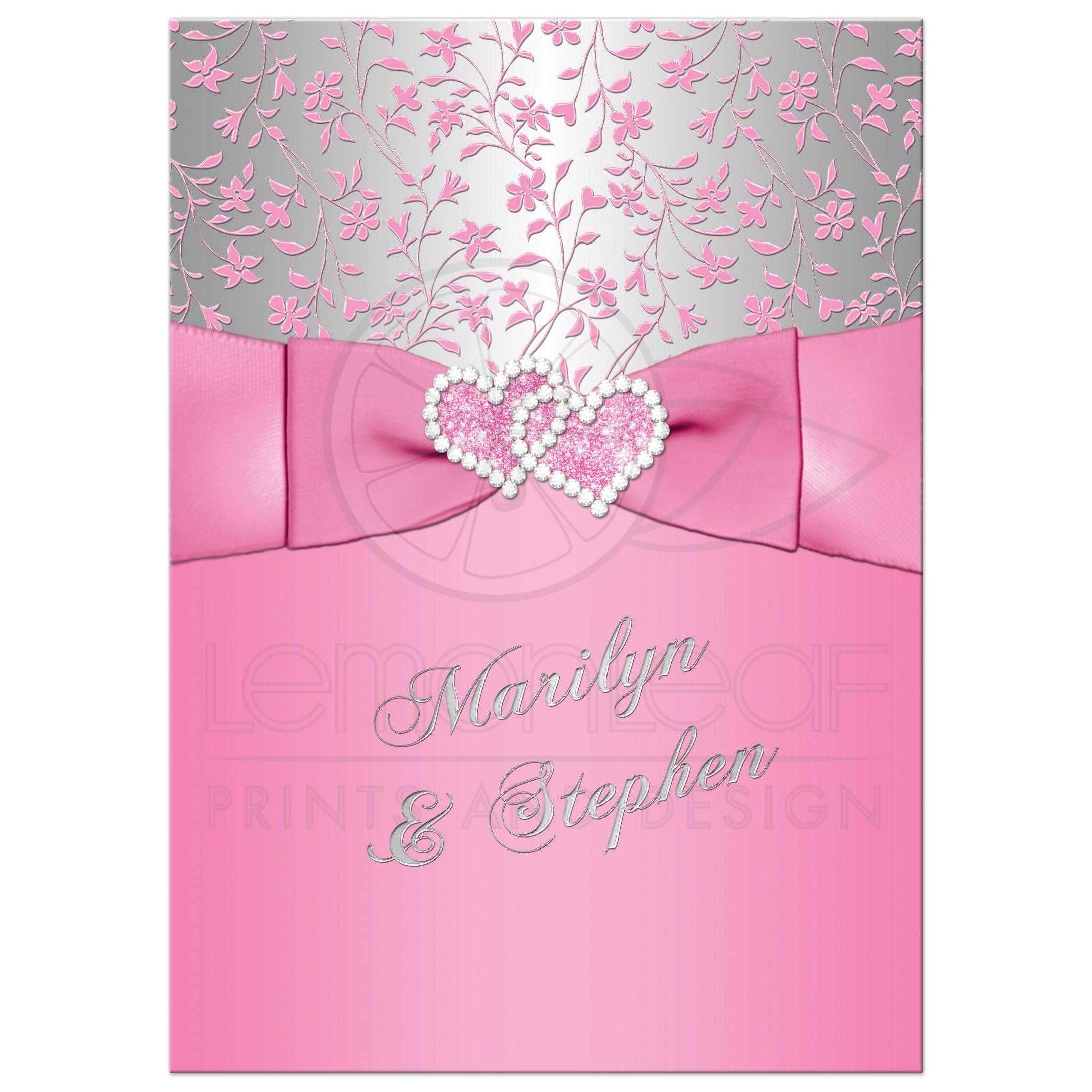 Pink And Grey Wedding Theme
