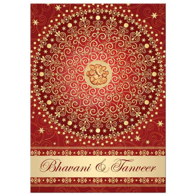 Great Monogrammed Berry Red White Gold Glitter And Snowflakes Wedding Invitation With Scroll