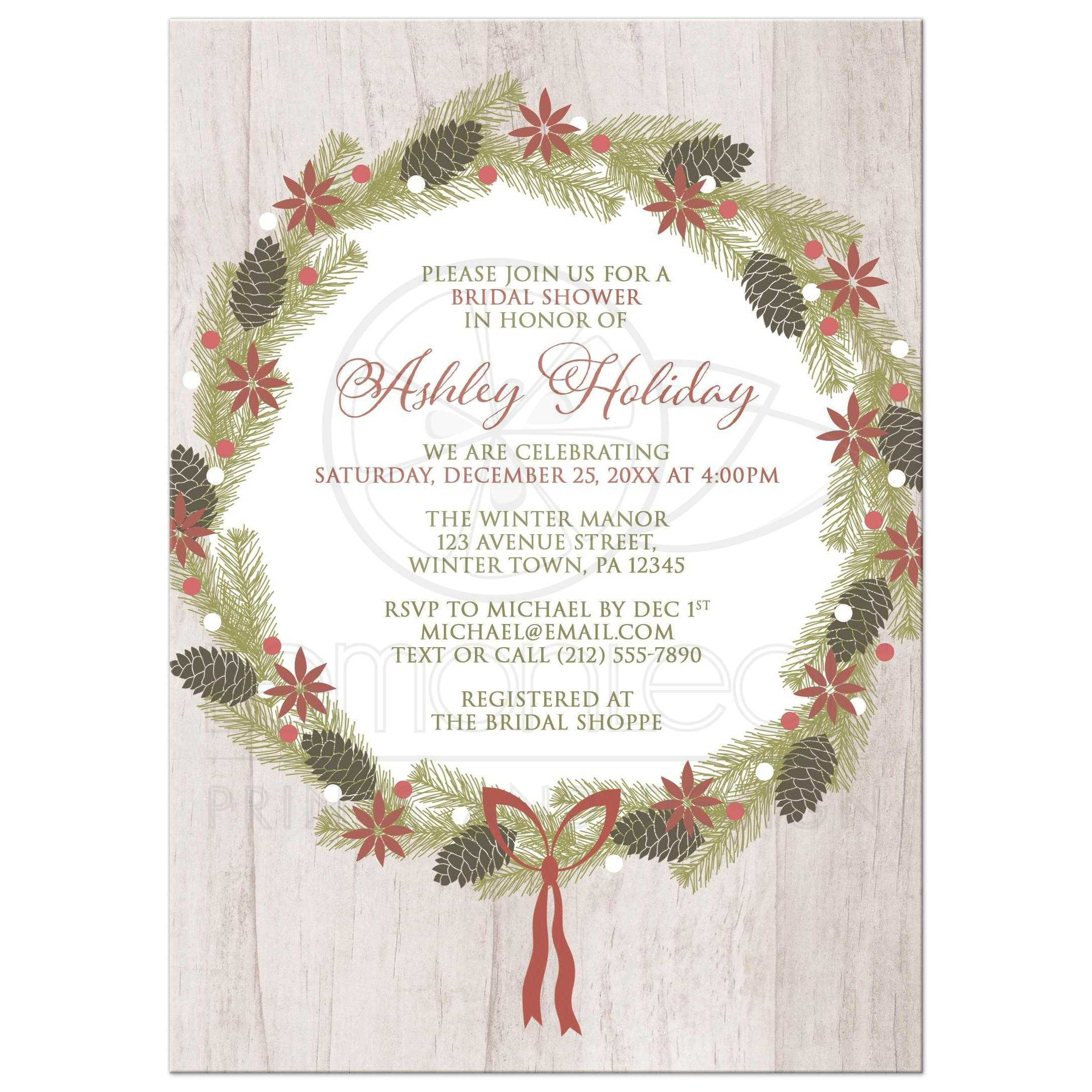 Bridal Shower Invitations And Recipe Cards