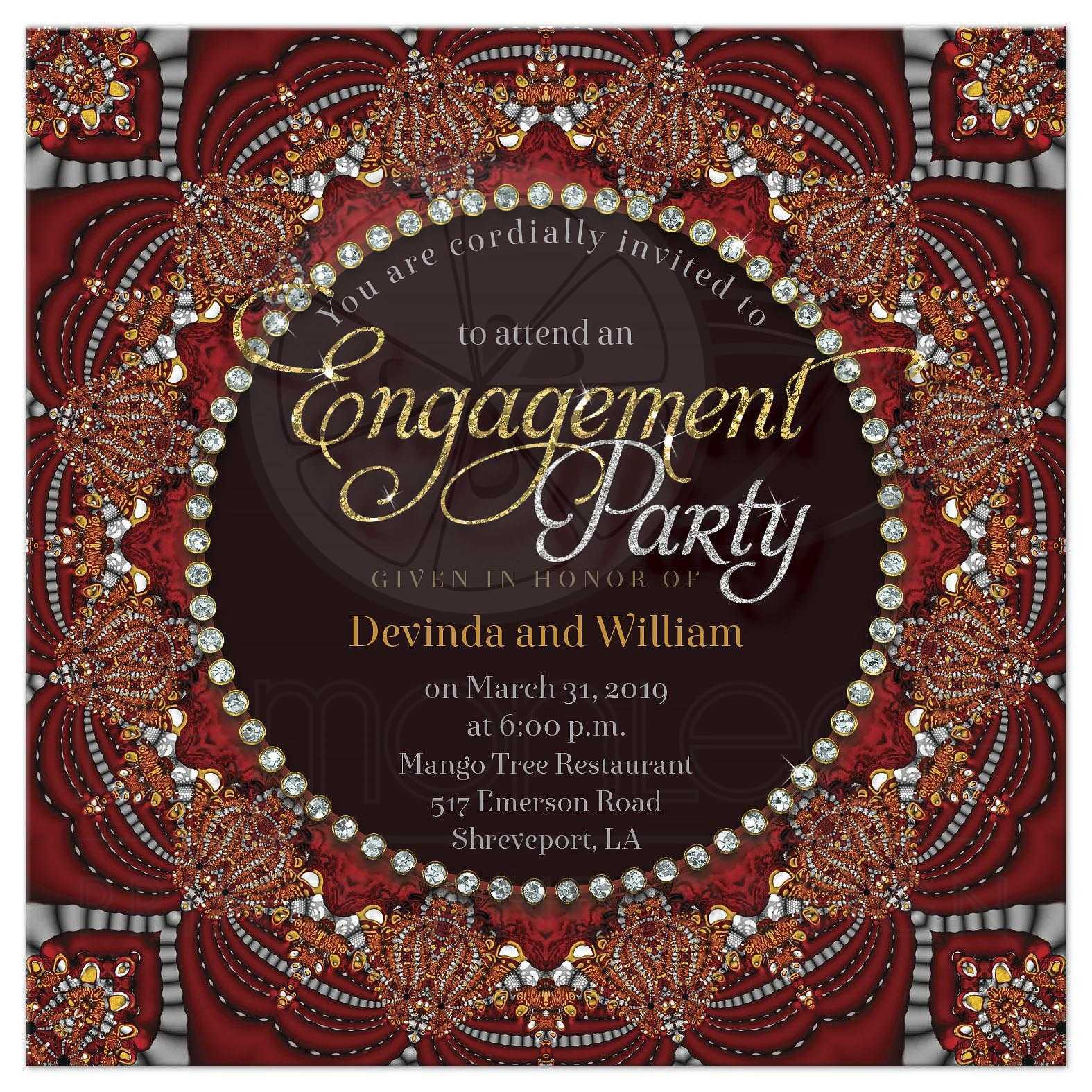 Personalized Christening Invitation