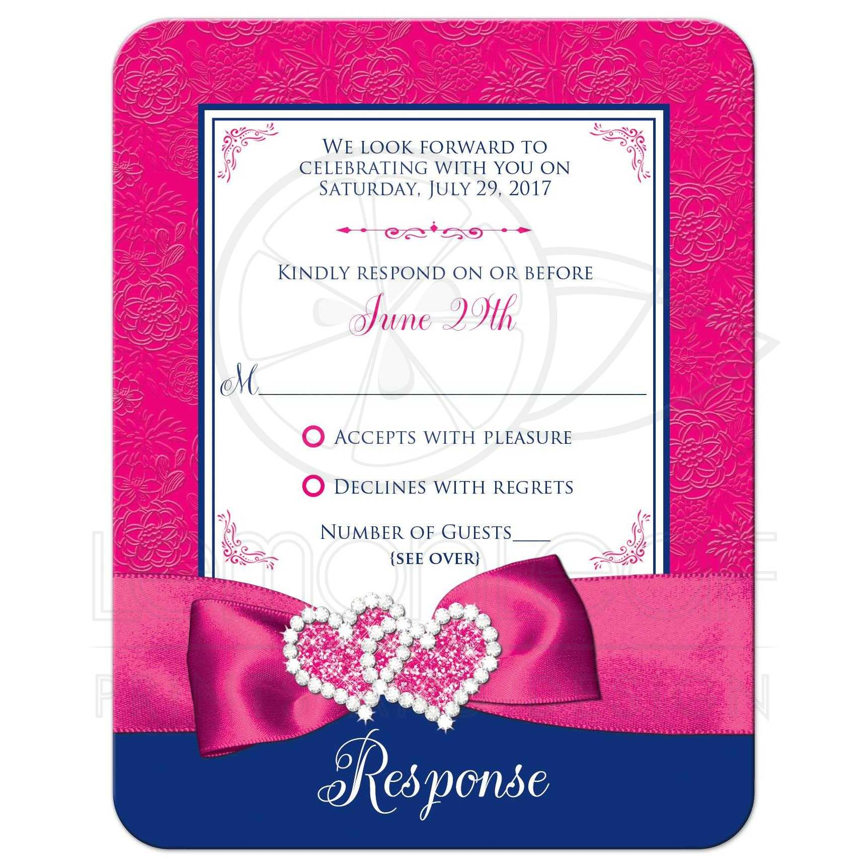 Baptism Invitations Insert