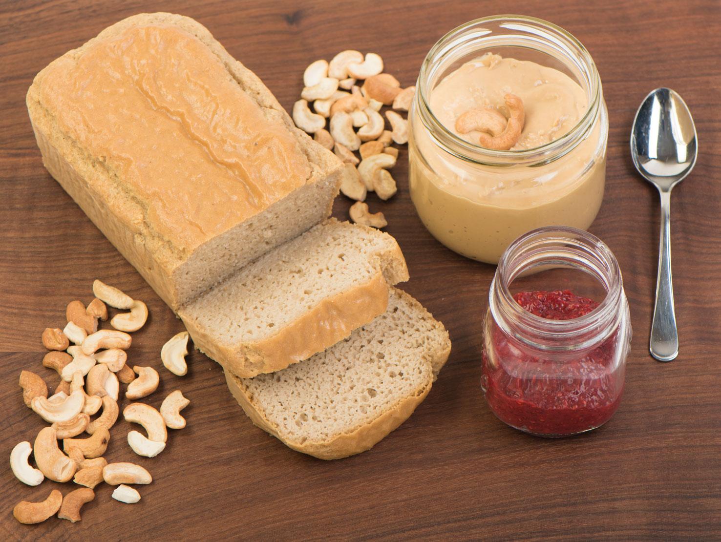 Healthy Low Carb Paleo Peanut Butter Sandwich