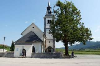 One of many elegant Slovenian churches