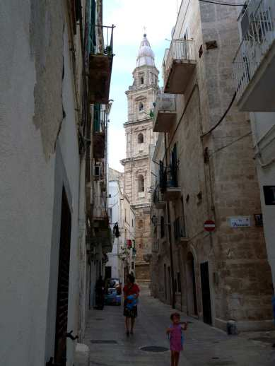 Typical Monopoli street