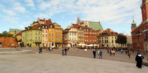 Warsaw's reconstructed Old Town