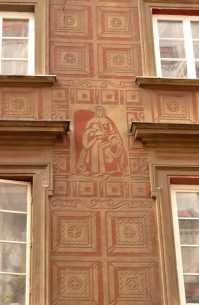 Warsaw building detail