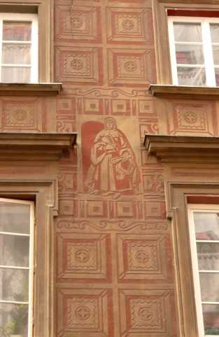 Warsaw building detail