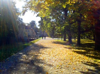Warsaw Palace walk