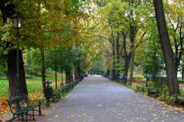 Krakow green belt