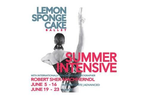 Lemon Sponge Cake Contemporary Ballet - Summer Intensive