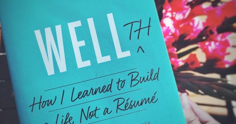 Favorite Book. Wellth by Jason Wachob