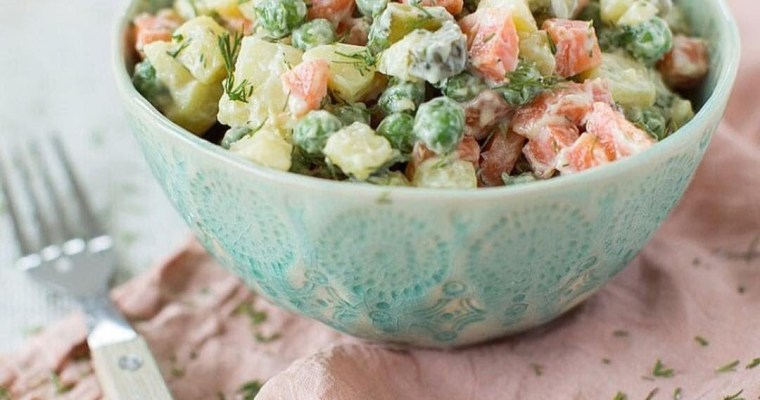 New Year Olivier Salad