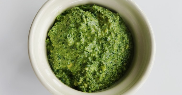 Kale & Cashew Pesto (vegan friendly)