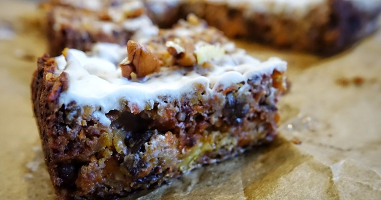 Healthy Carrot Cake (gf, vegan-friendly)