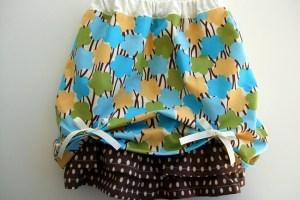 The Ruffled Bubble Skirt Tutorial