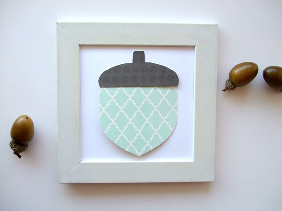 Quick and Simple Acorn Craft