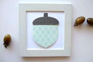 Quick and Simple Acorn Craft