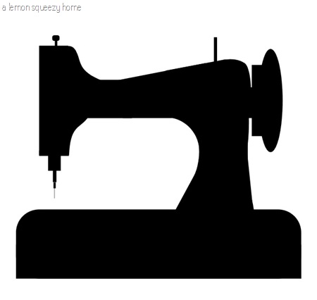 Sewing Machine Silhouette Graphic Free Download