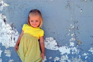 Easy Toddler's Shirred T-shirt Dress: Tutorial