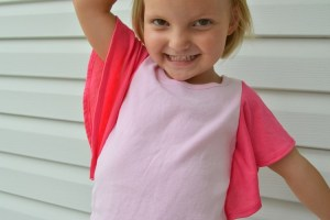 Adding Flutter Sleeves to a Tank Top:  Tutorial