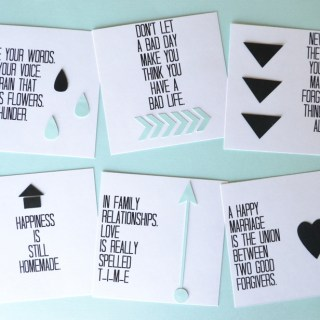 Words To Live By Quote Board + Printable Quotes || Lemon Squeezy Home