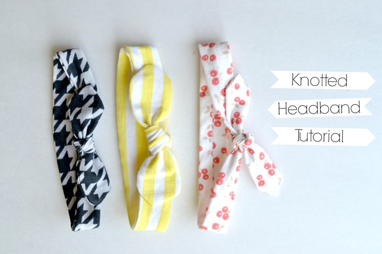 Knotted Headband Tutorial {and a couple more!}
