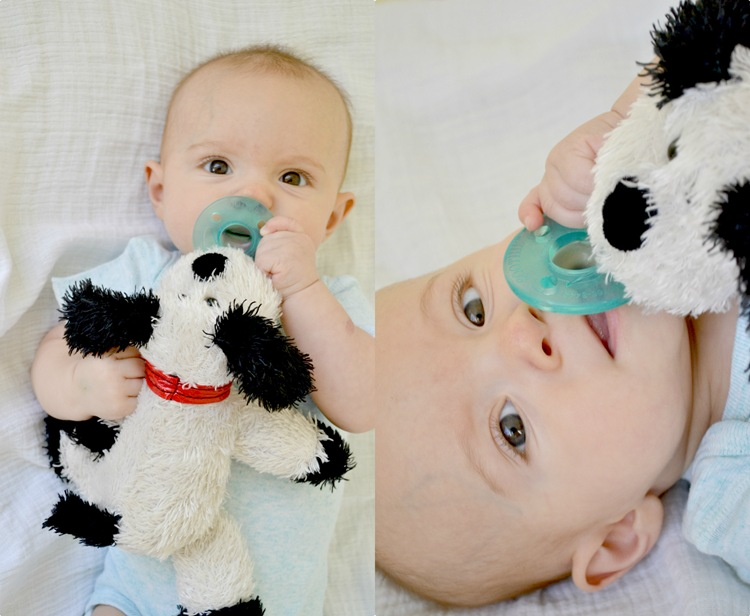 stuffed animal pacifier: tutorial