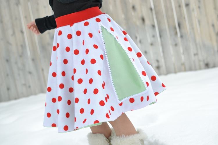 12 Skirts of Christmas {tutorial}
